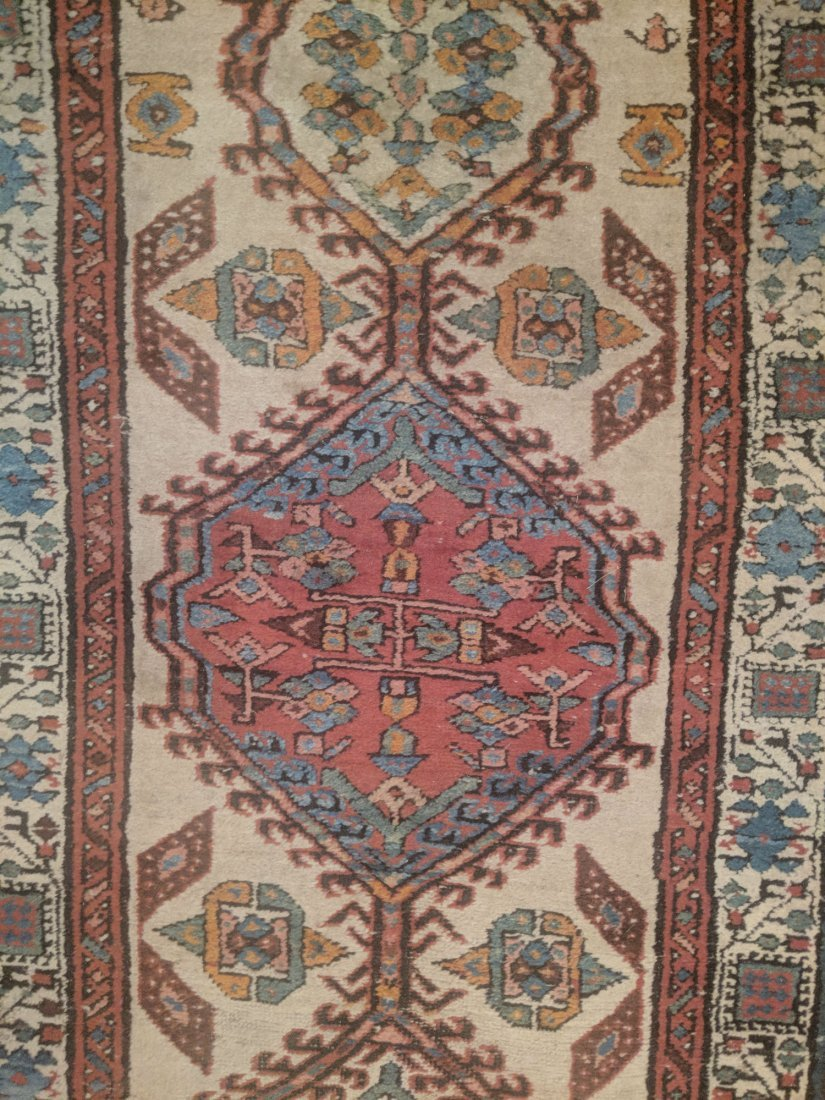 Antique Caucasian Kazak Runner - 2