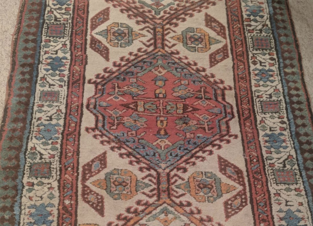Antique Caucasian Kazak Runner - 3