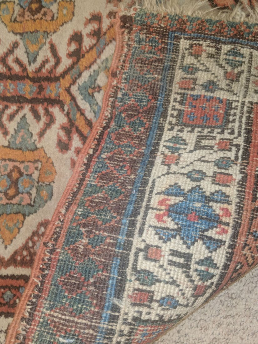 Antique Caucasian Kazak Runner - 4
