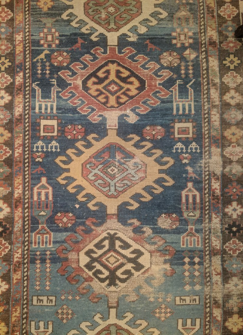 Antique Caucasian Shirvan Rug, 2nd half 19th Century - 2
