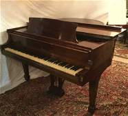 Steinway  Sons Model S Walnut Grand Piano