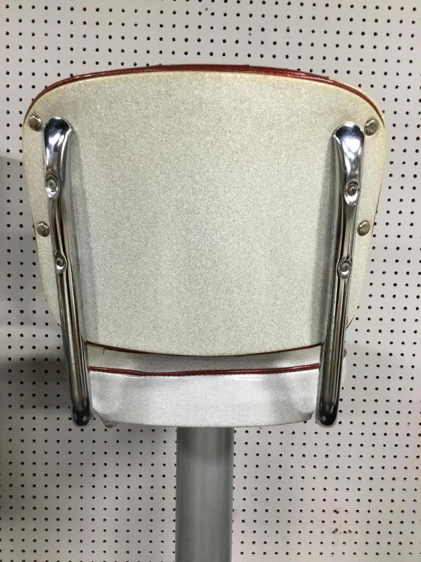 Set of 5 Vintage Soda Shop Bar Stools - 5