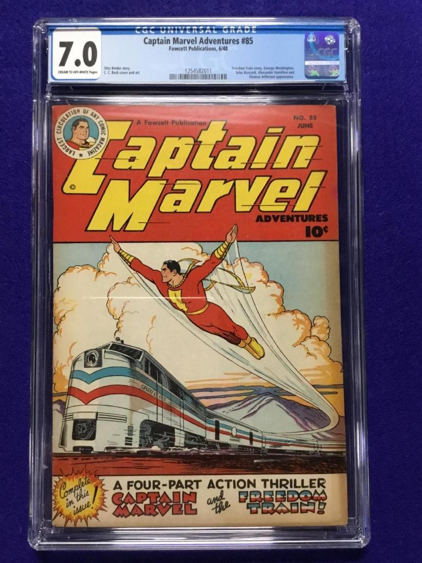 Captain Marvel #85 CGC 7.0