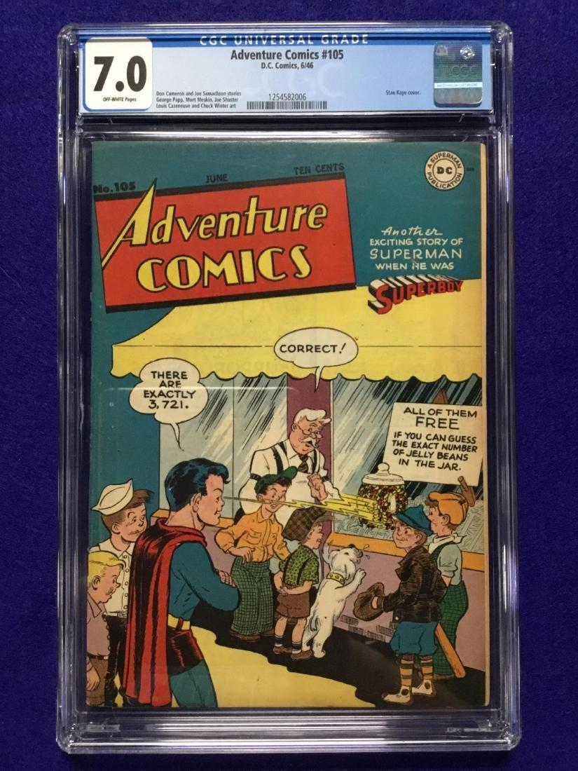 Adventure Comics #105 CGC 7.0
