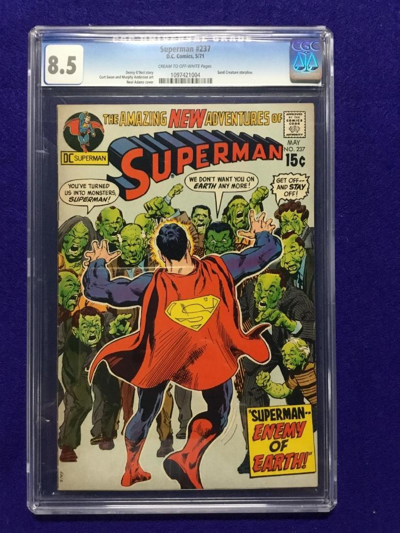 Superman #237 CGC 8.5