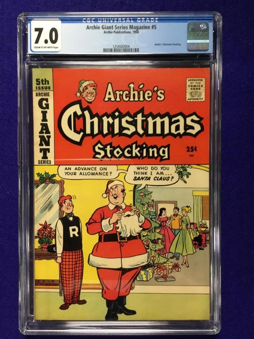 Archie Giant Series Magazine #5 CGC 7.0
