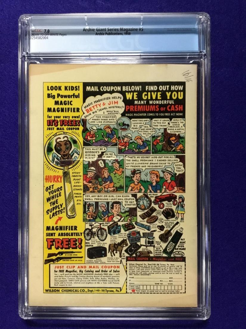 Archie Giant Series Magazine #5 CGC 7.0 - 2