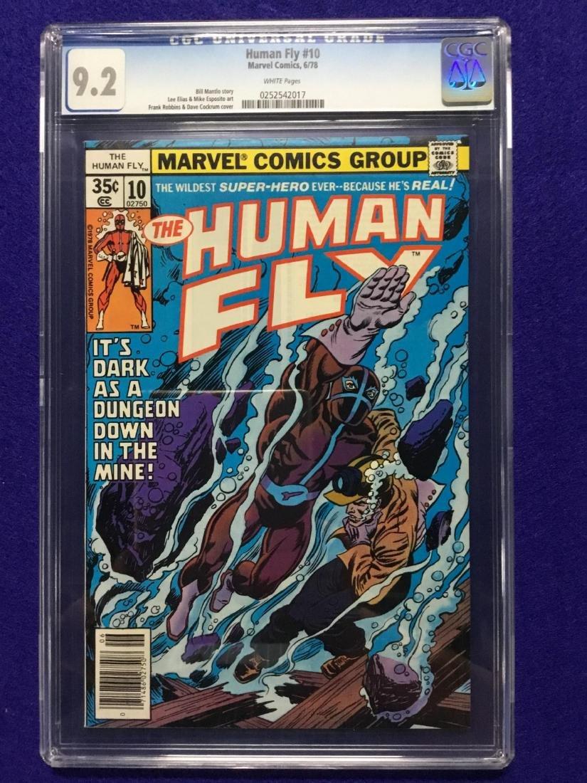 Human Fly #10 CGC 9.2