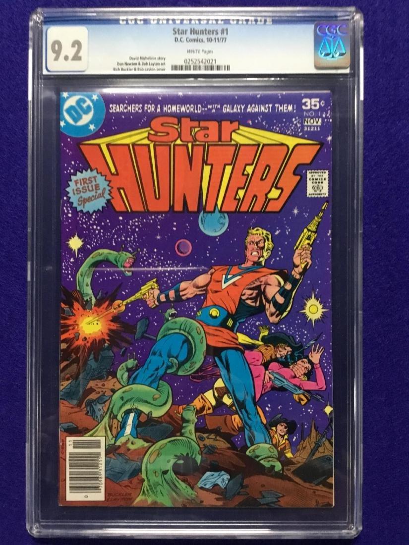 Star Hunters #1 CGC 9.2