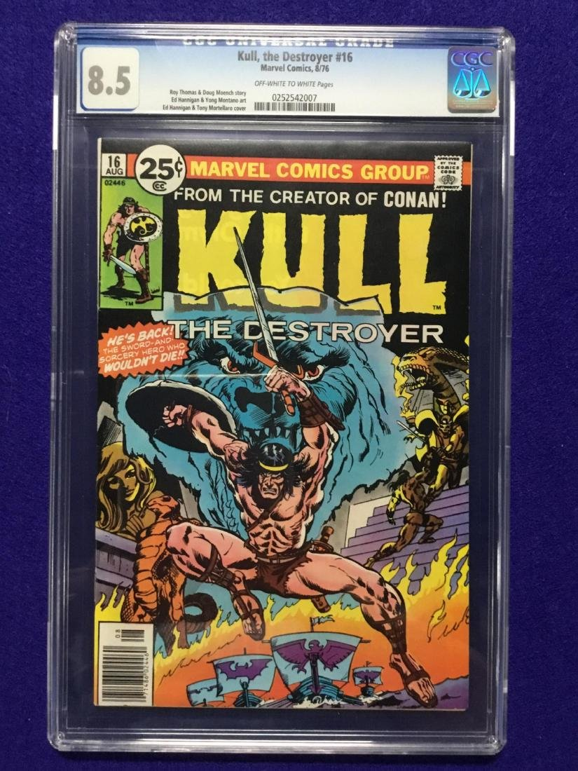 Kull, the Destroyer #16 CGC 8.5