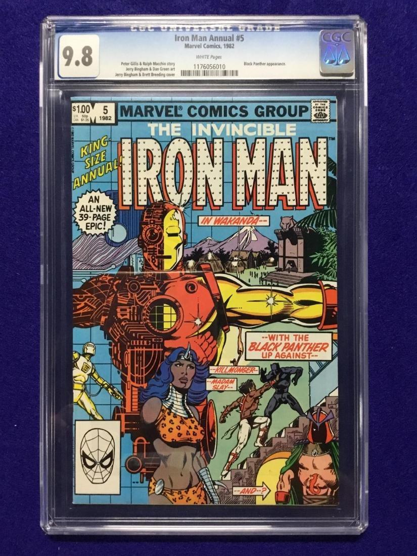 Iron Man Annual #5 CGC 9.8