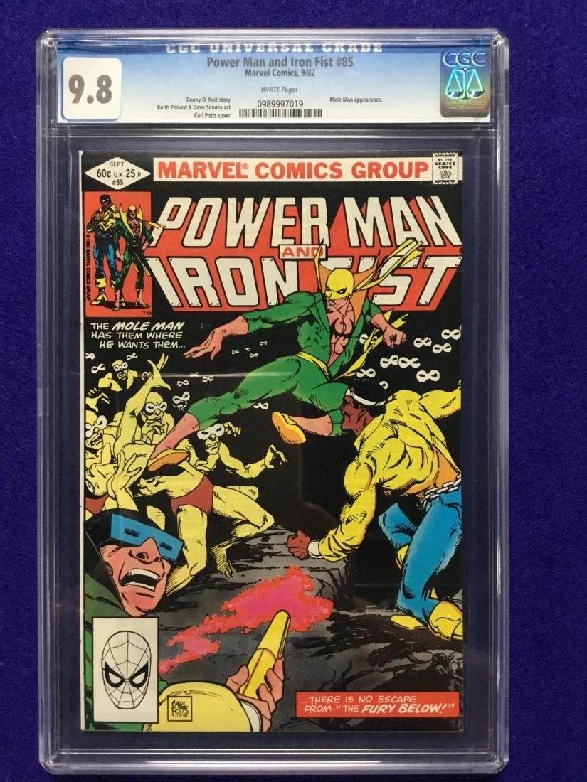 Powerman and Iron Fist #85 CGC 9.8