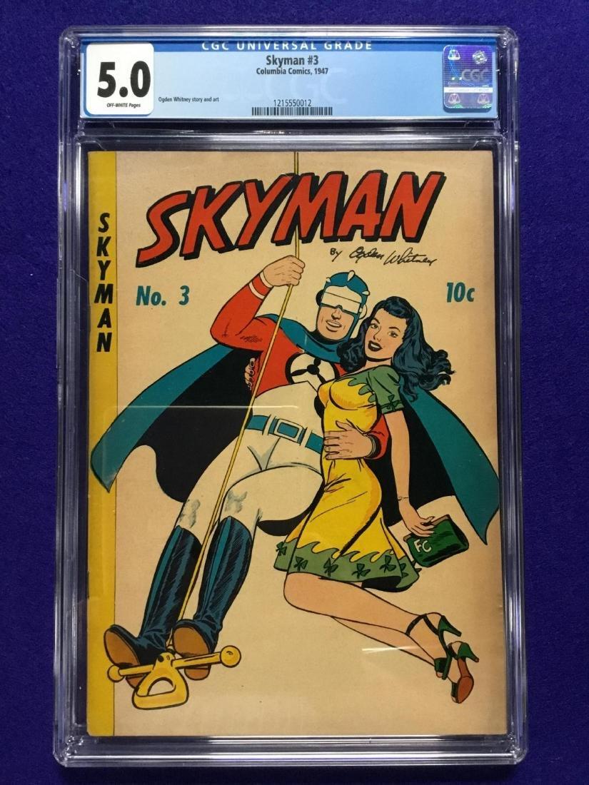 Skyman #3 CGC 5.0