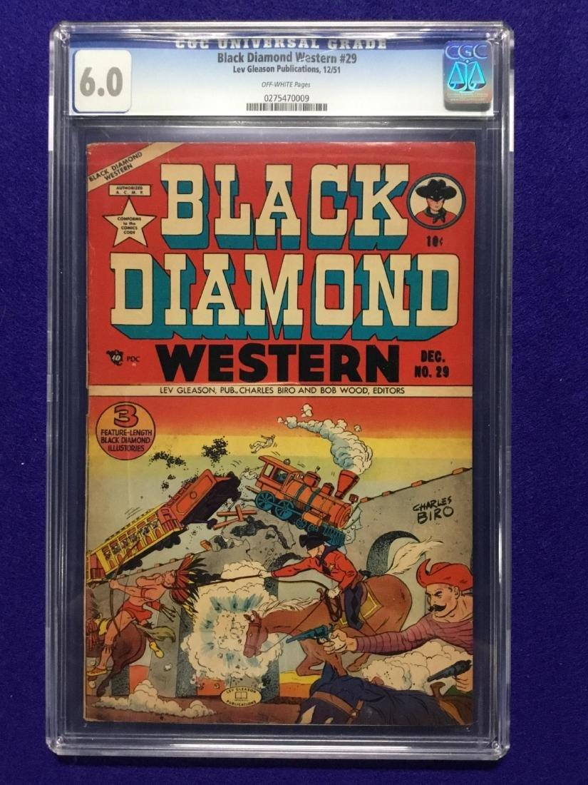 Black Diamond Western #29 CGC 6.0