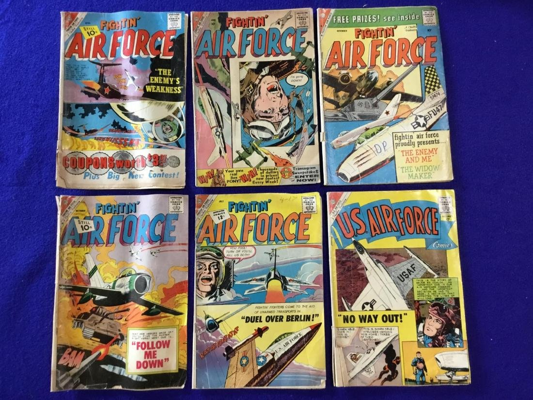 Lot of 6 Fightin Air Force