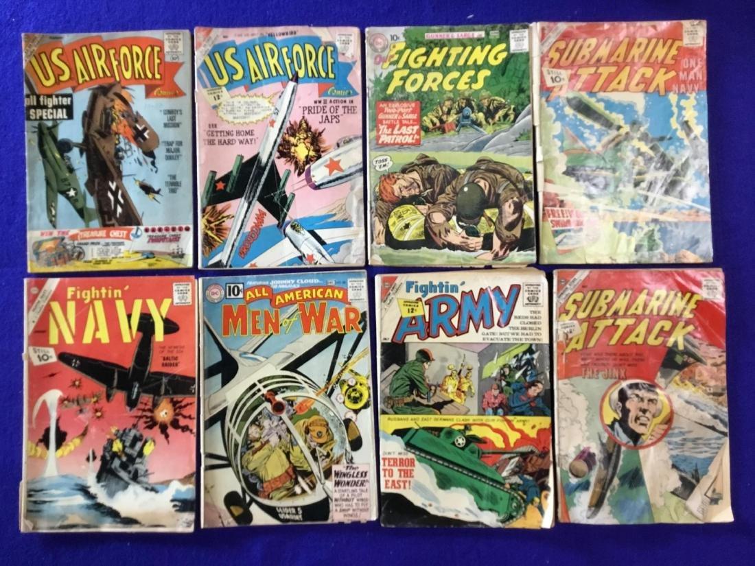 Lot of 8 Comics