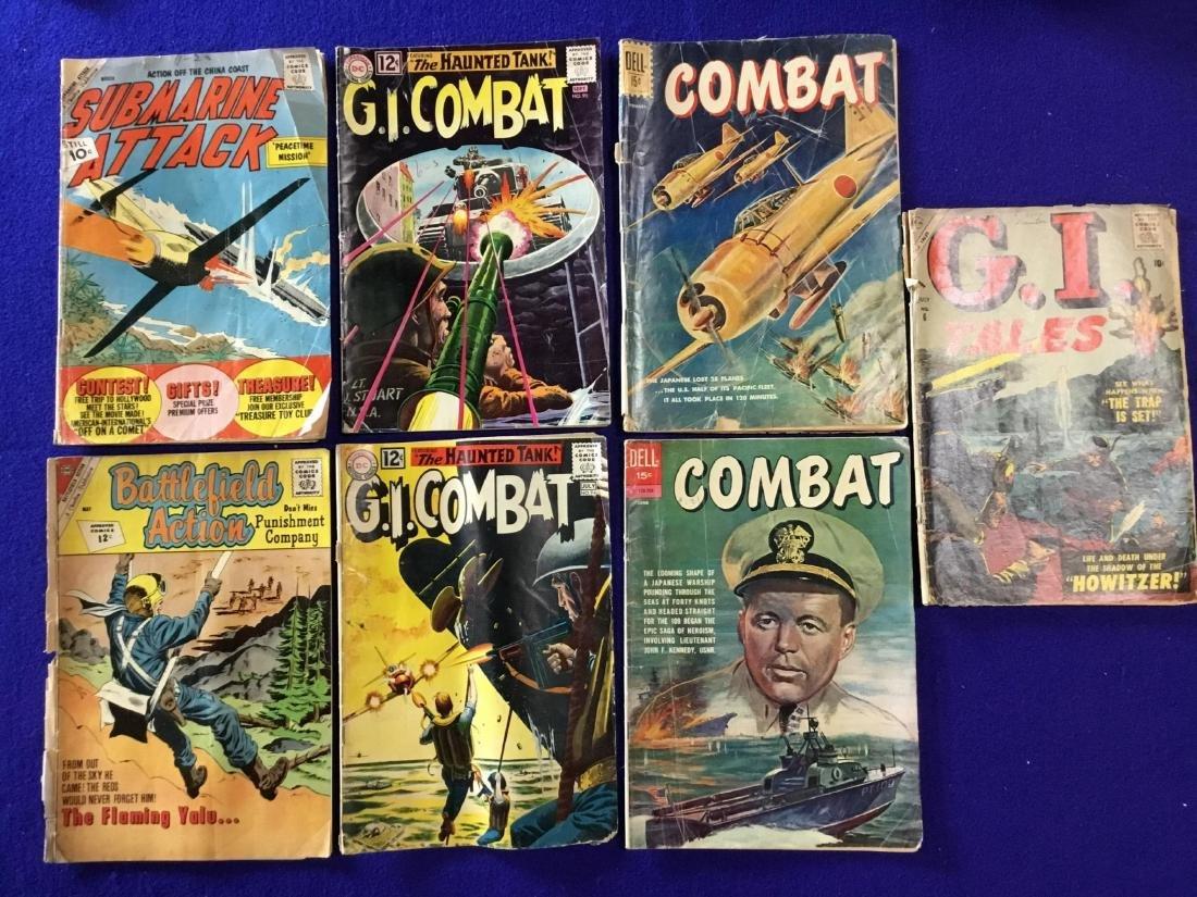 Lot of 7 Comics