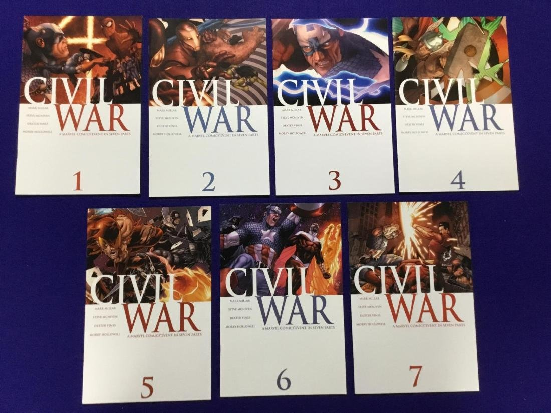 Complete Set of Civil War 1-7