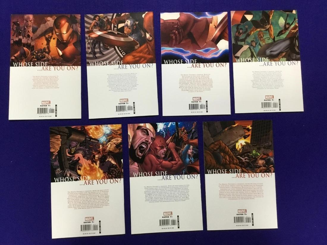 Complete Set of Civil War 1-7 - 2