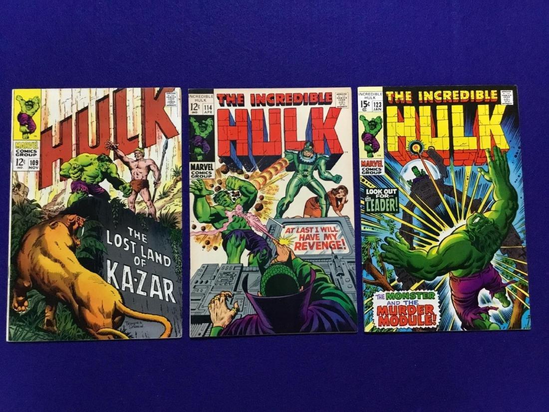Lot of 3 Incredible Hulks