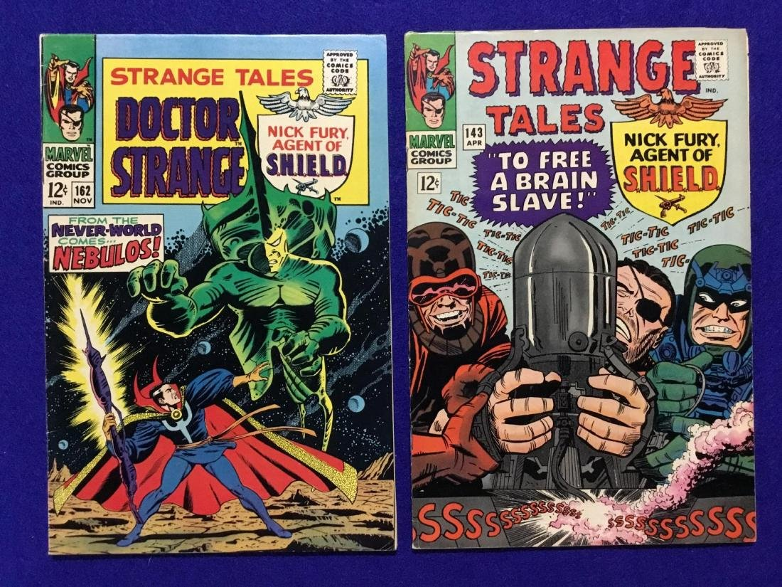 Lot of Strange Tales Issues