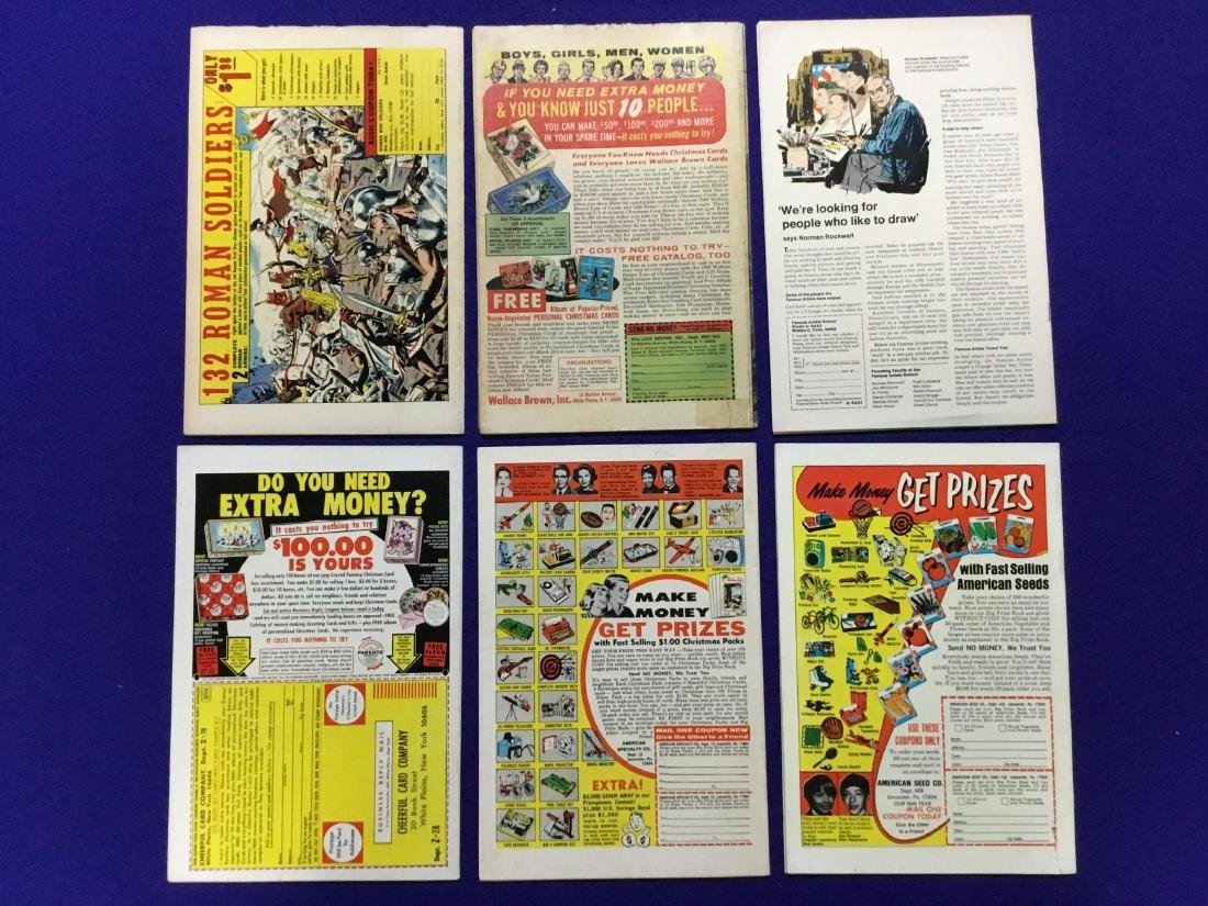 Lot of 6 Issues of Submariner - 2