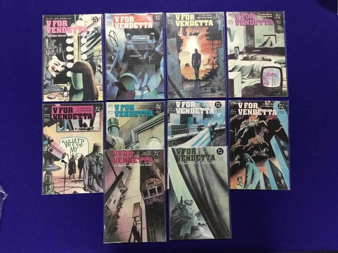 Complete Set of High Gade V for Vendetta