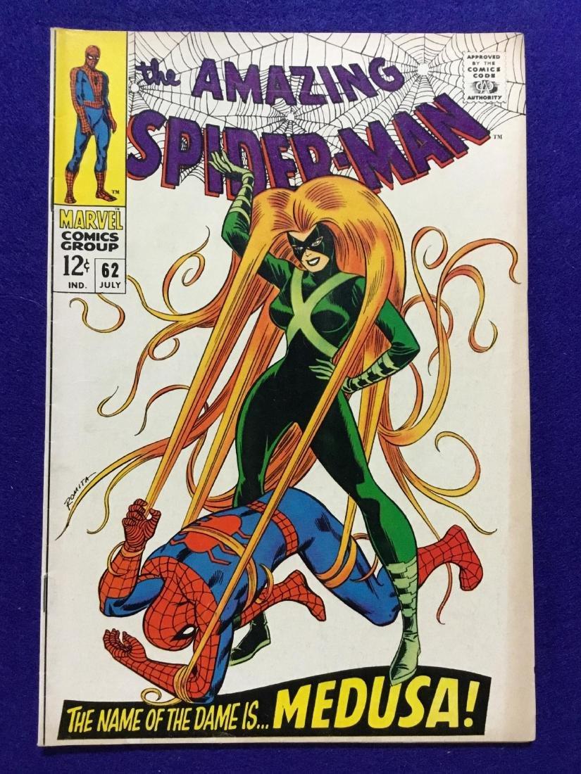 Amazing Spiderman #62