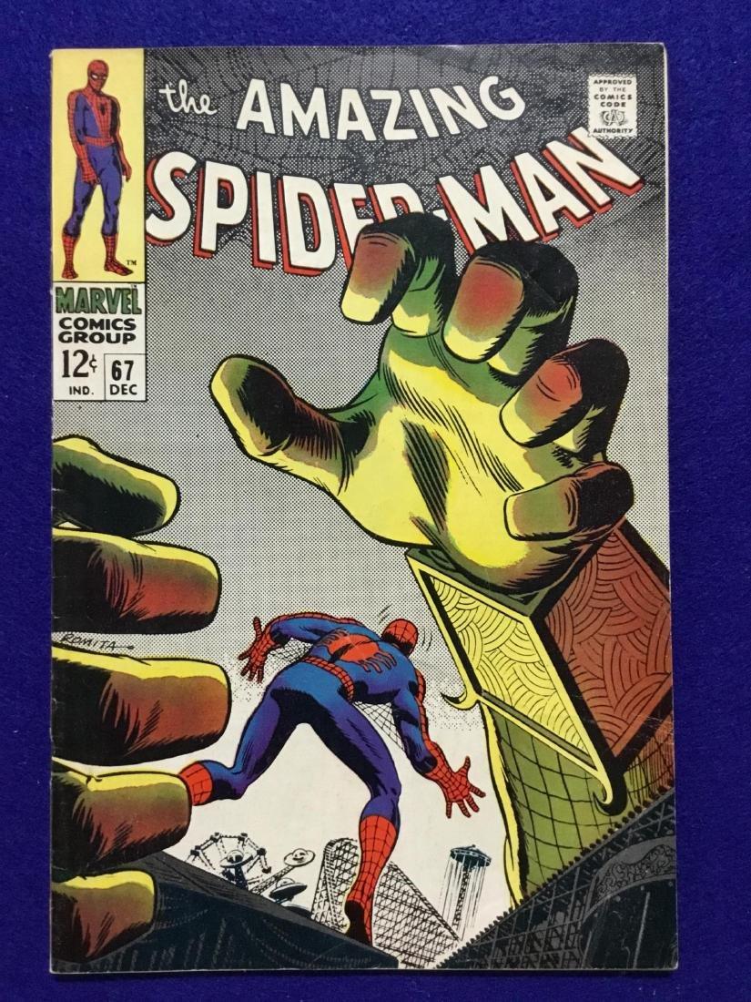 Amazing Spiderman #67
