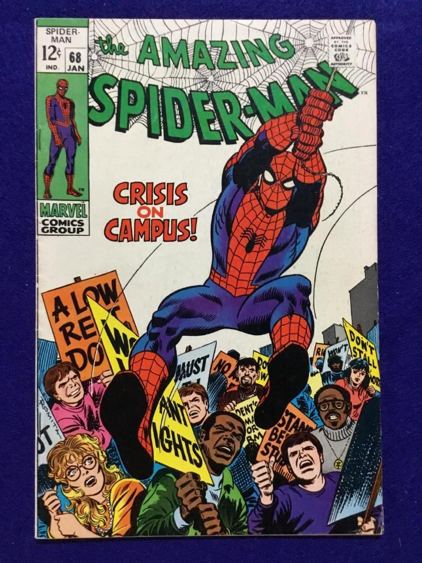 Amazing Spiderman #68