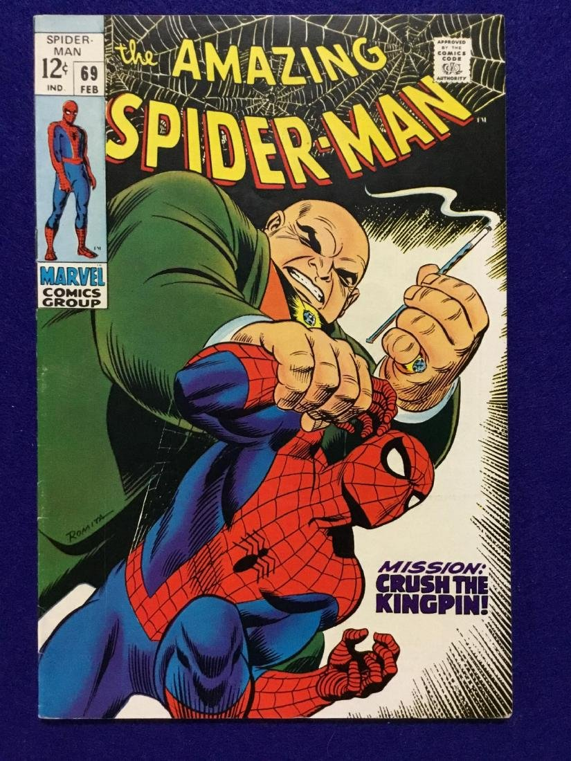 Amazing Spiderman #69