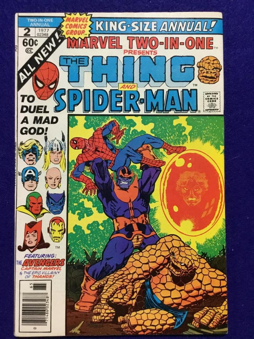 Marvel Two In One #2