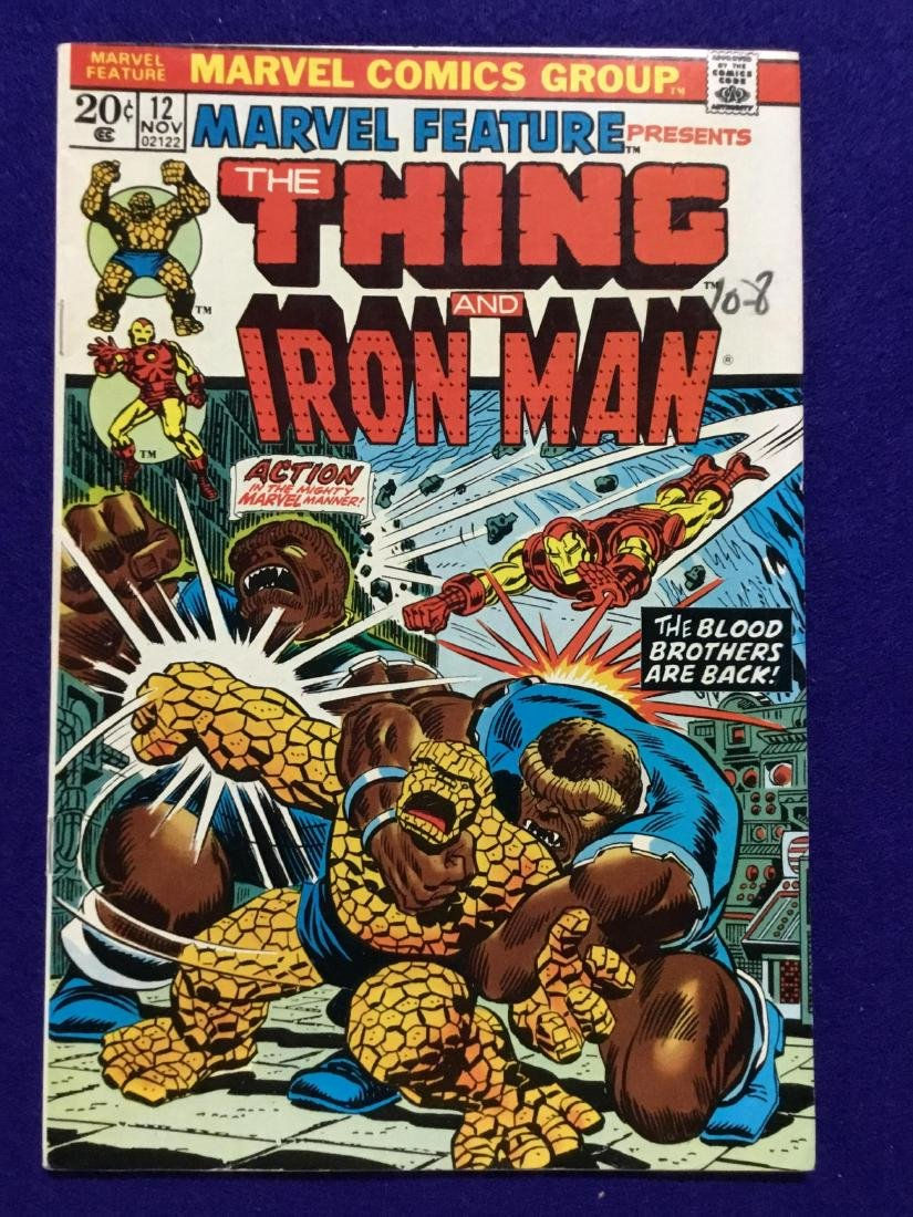 The Thing and IronMan #12