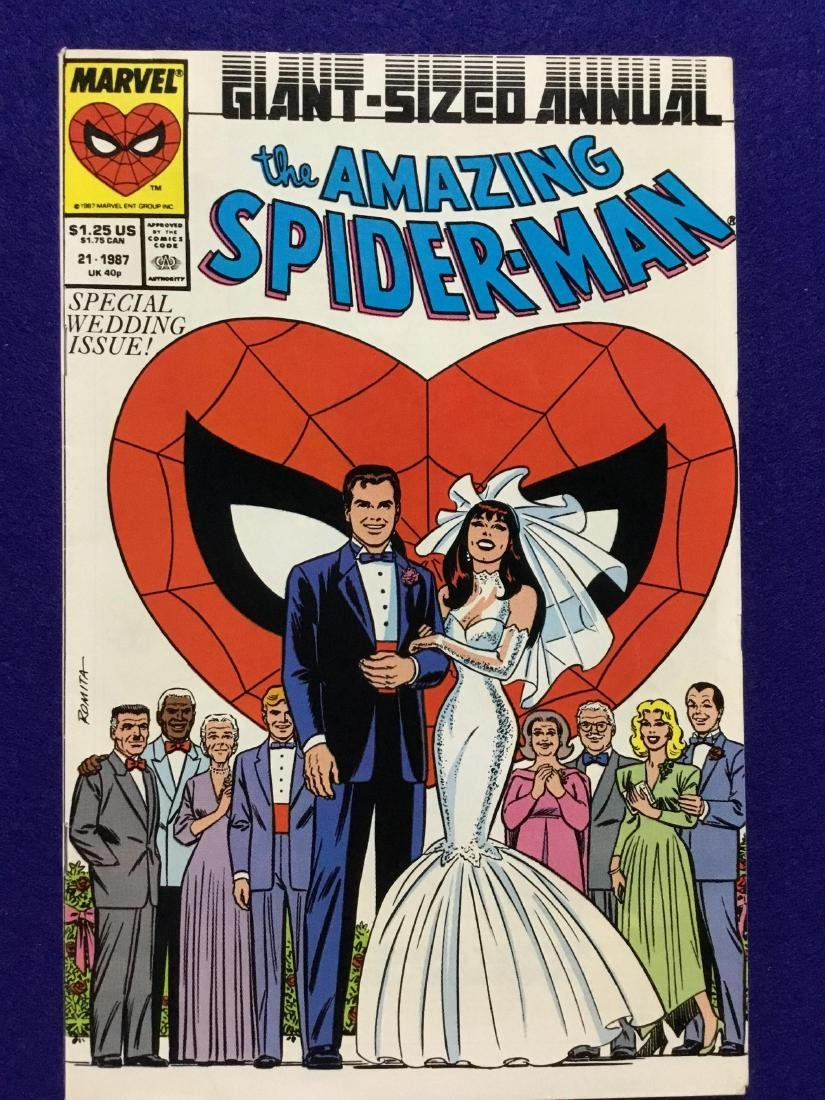 Giant Size Amazing Spiderman Annual Wedding Issue