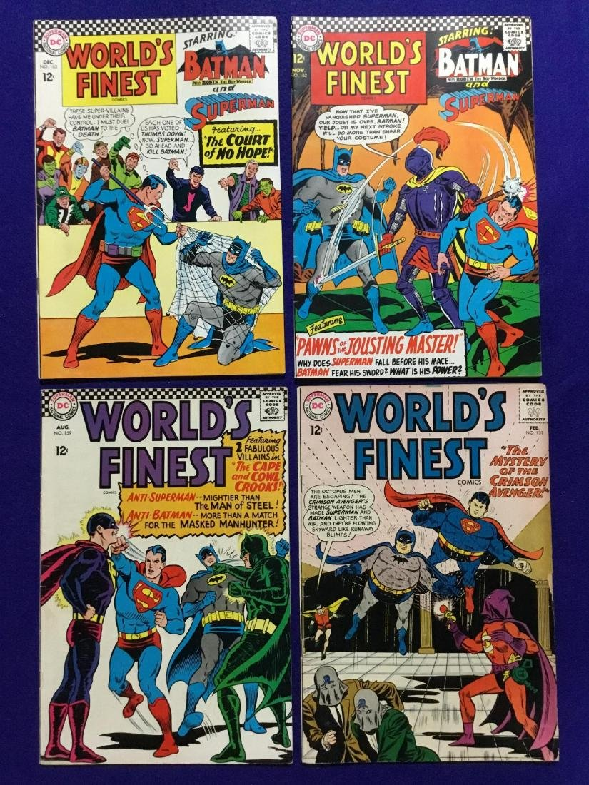 Lot of 4 Worlds Finest