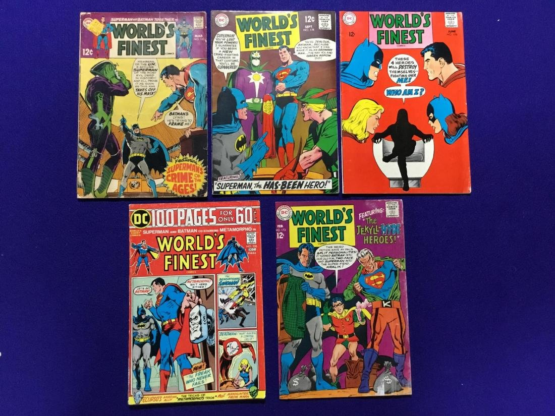 Lot of 5 Worlds Finest