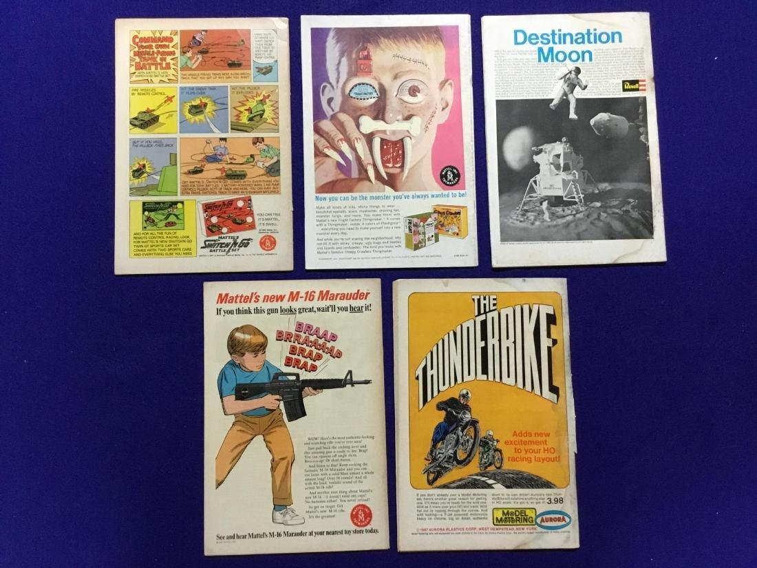 Lot of 5 Adventure Comics - 2