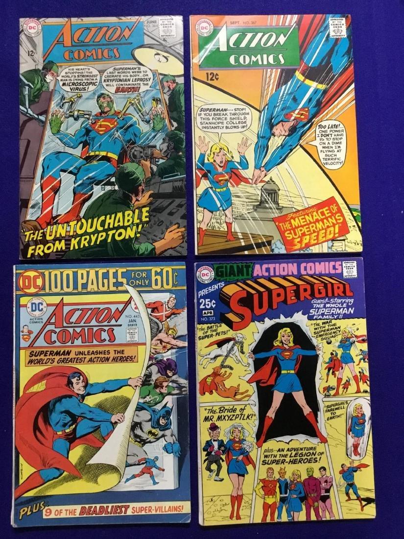 Lot of 4 Action Comics