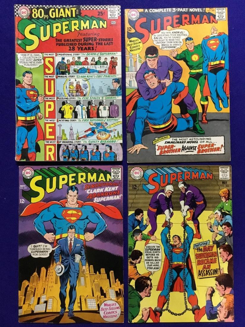 Lot of 4 Superman