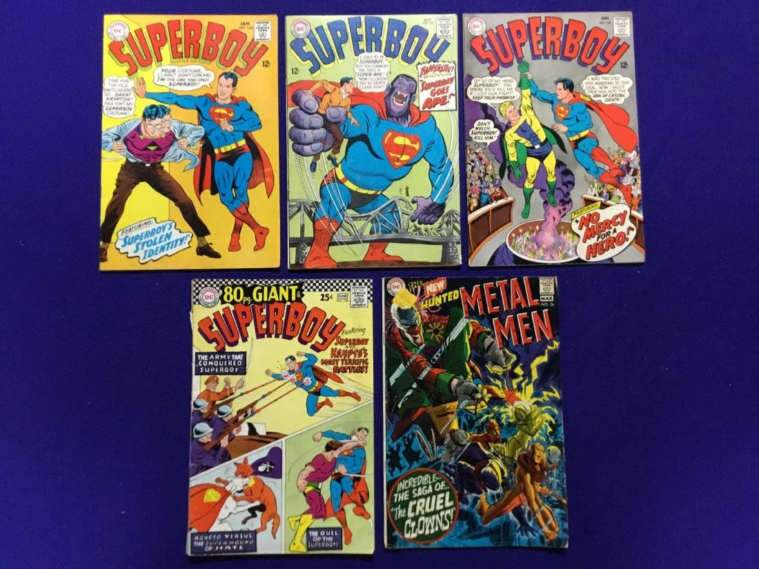 Lot of 5 Superboy and others