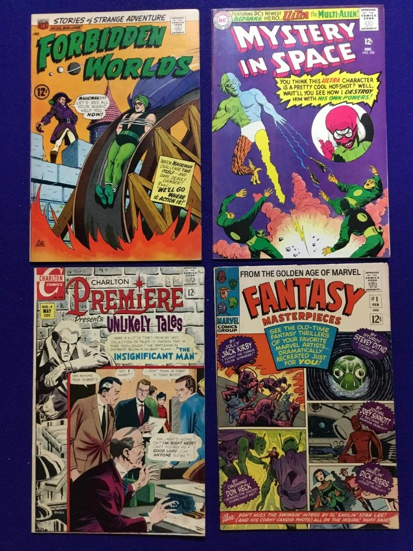 Lot of 4 Comics