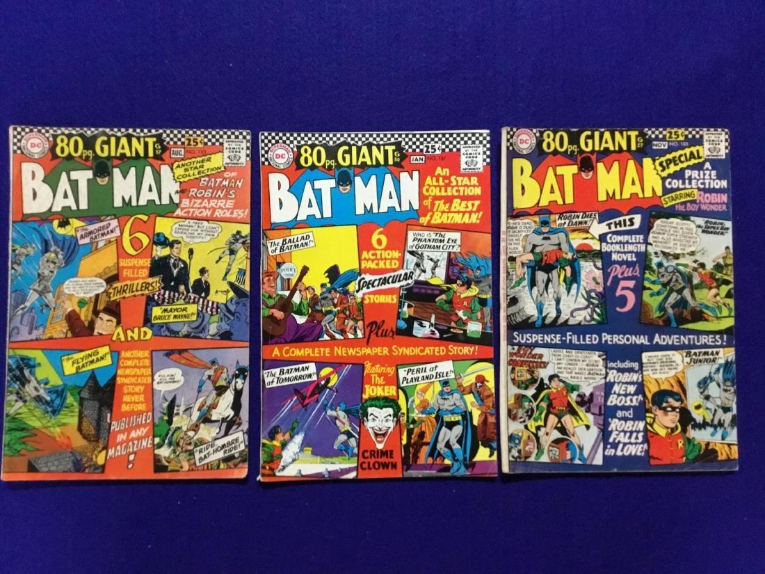 80 Page Giant Batman Lot