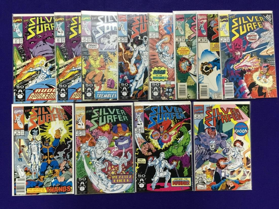 Silver Surfer Lot of 12