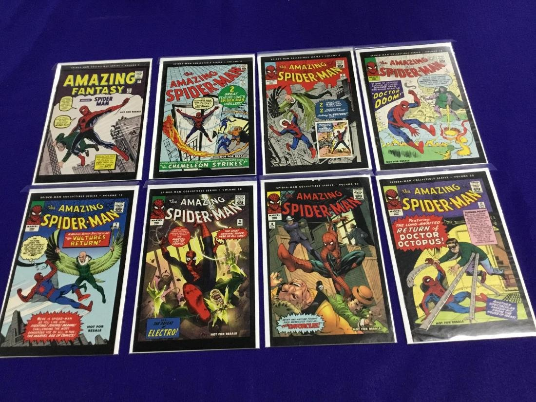 Spiderman Collectible Series 9 Issues