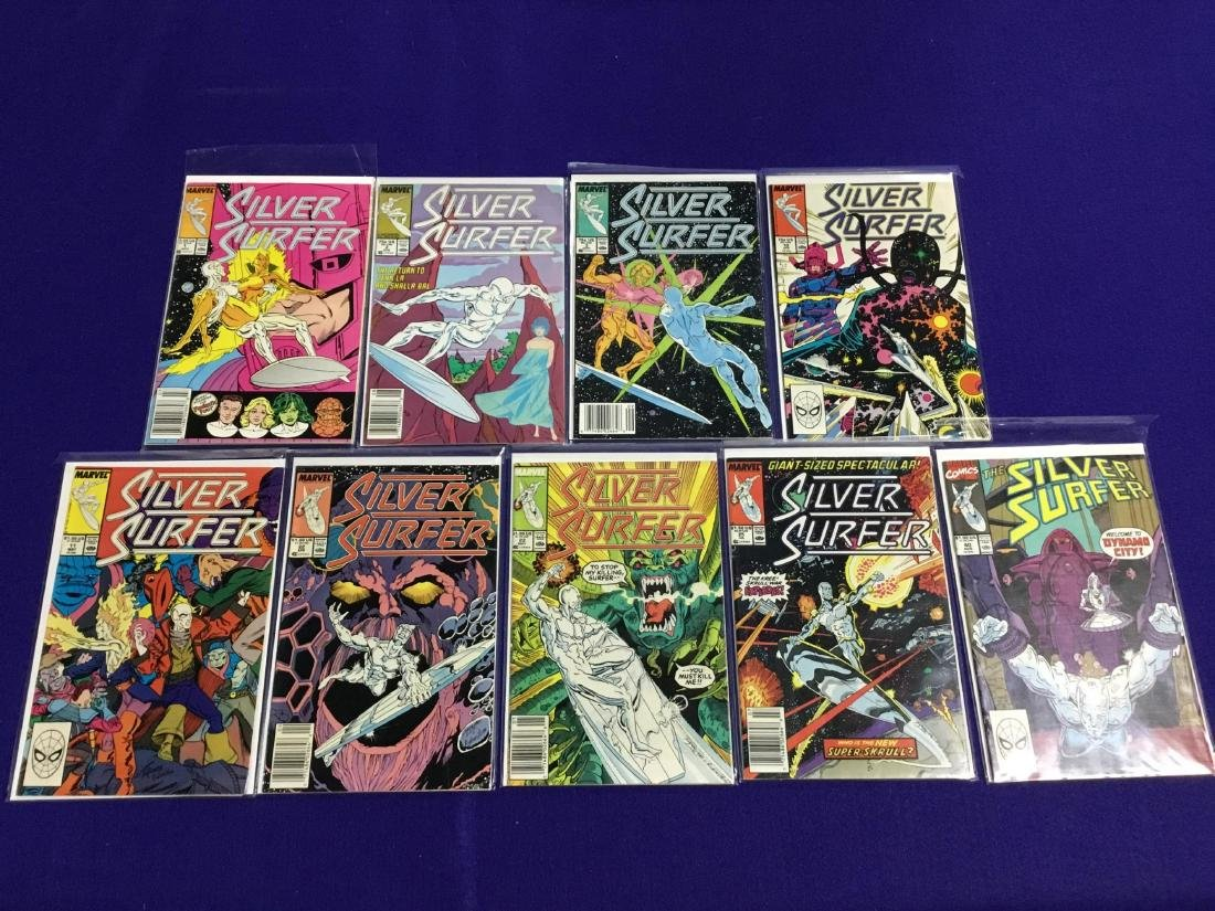 Silver Surfer 9 Issues