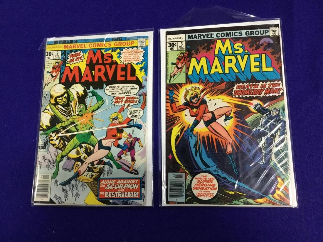 Ms Marvel #2,3