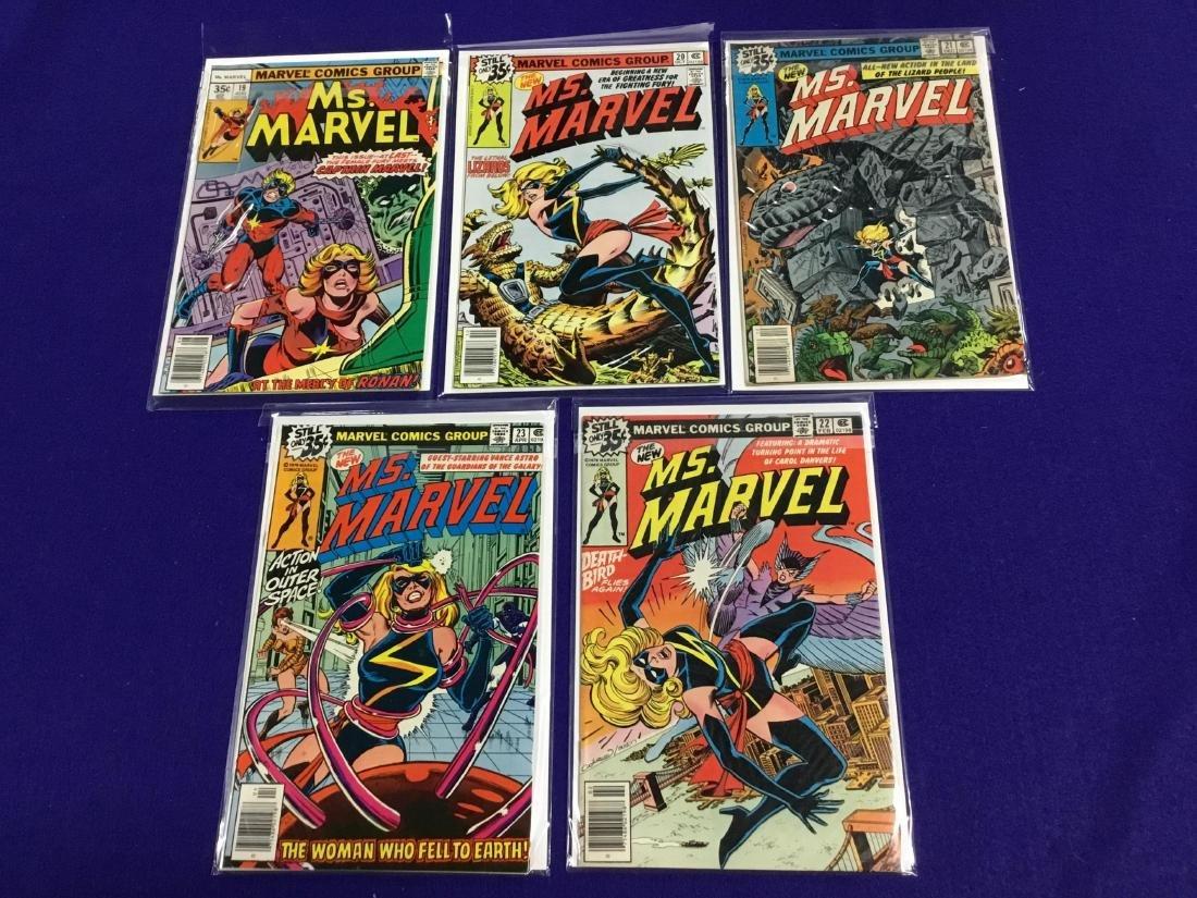 Ms Marvel #19-23