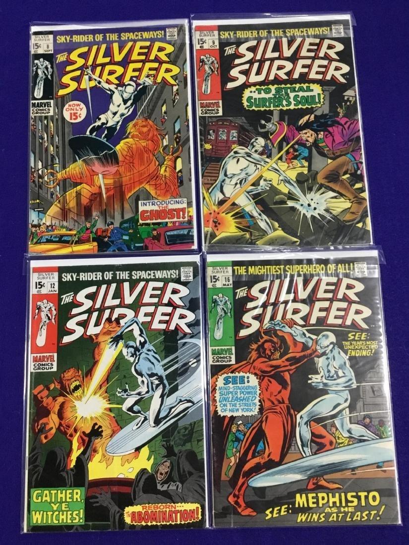 Silver Surfer #8-9,12,16