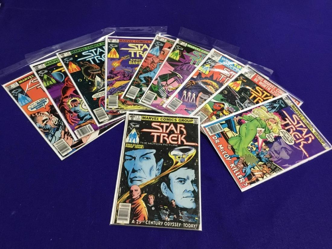 Marvel Star Trek 10 Issues