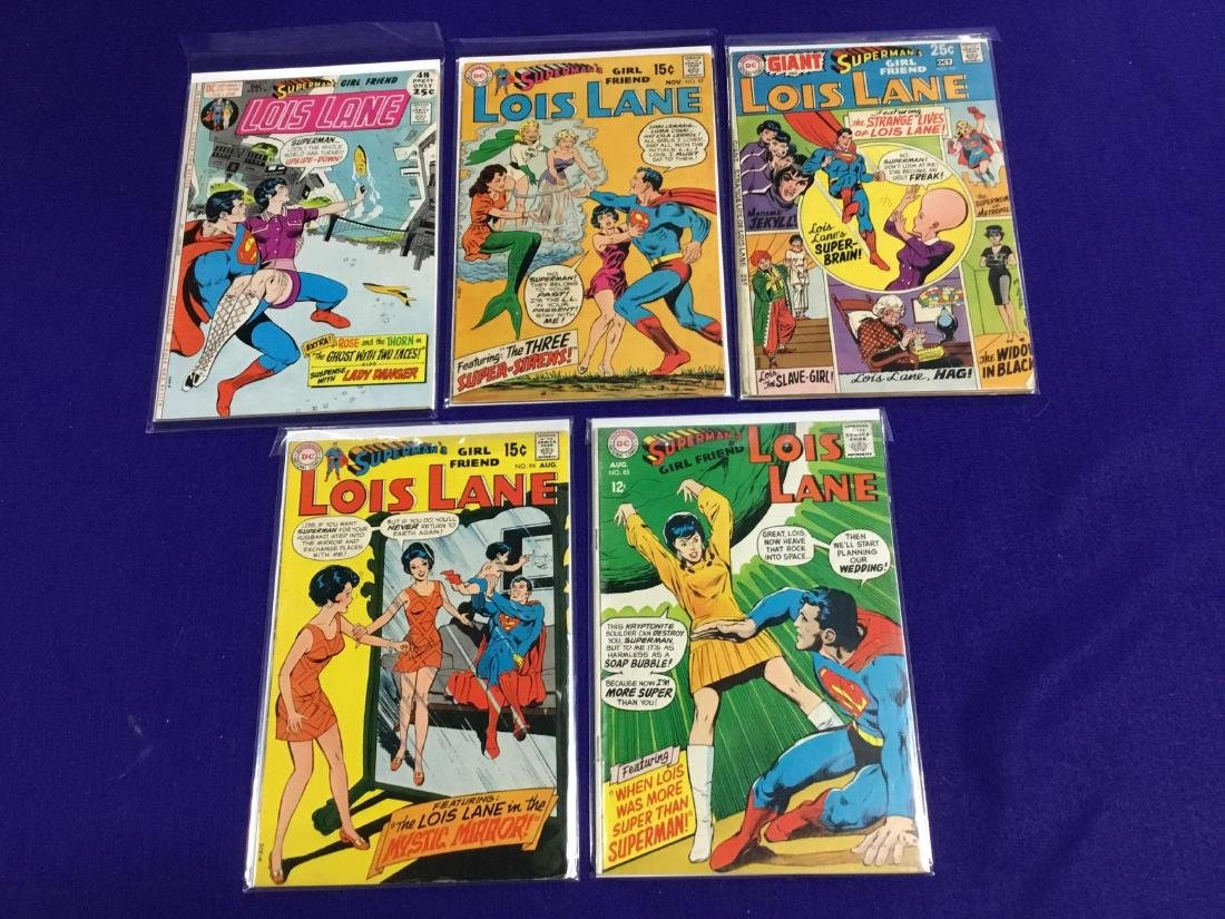 Superman's Girlfriend Lois Lane 5 Issues